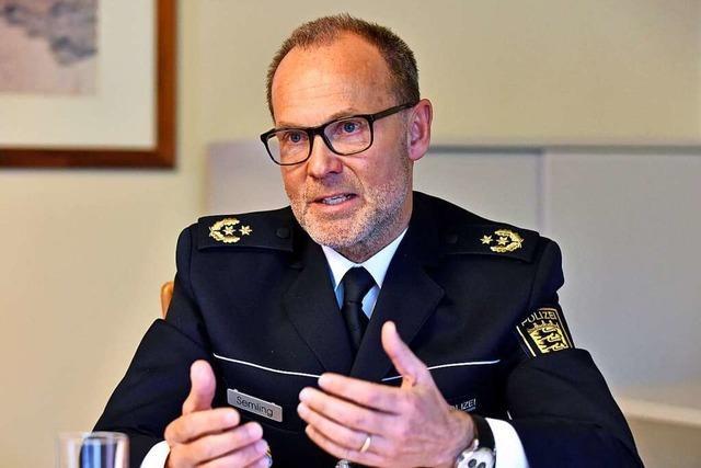 Freiburger Polizeipräsident nach Gemeinderat-Kritik: