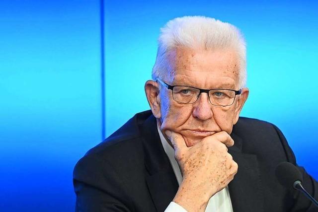 Kretschmann bedauert Vorstoß für ein härteres Regime bei Pandemien