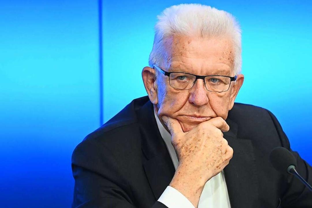 Winfried Kretschmann  | Foto: Bernd Weissbrod (dpa)