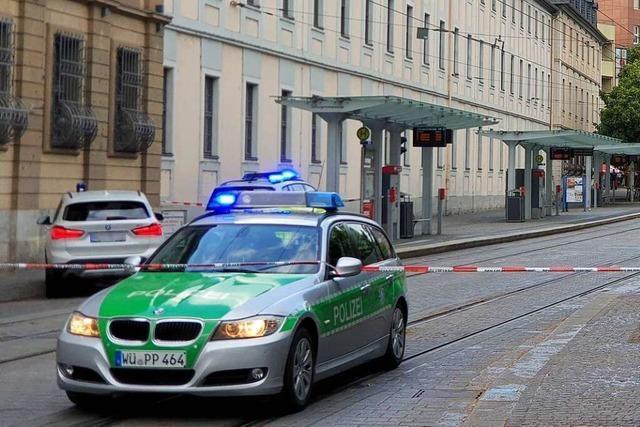 Mann greift Passanten in Würzburg an – Tote und Verletzte