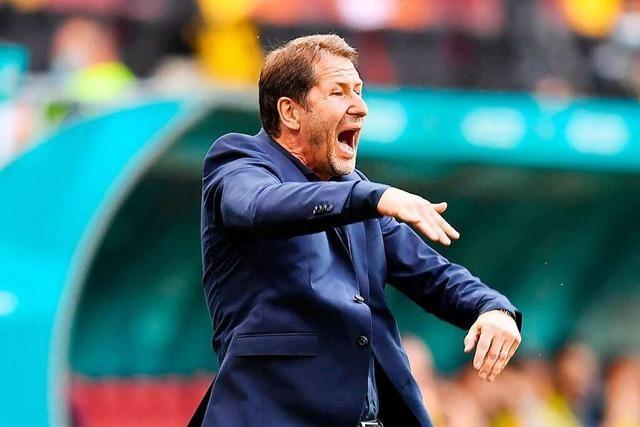 Coach Franco Foda fordert mit Österreich die Italiener heraus