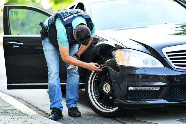 Polizei zieht sechs Fahrzeuge aus dem Verkehr