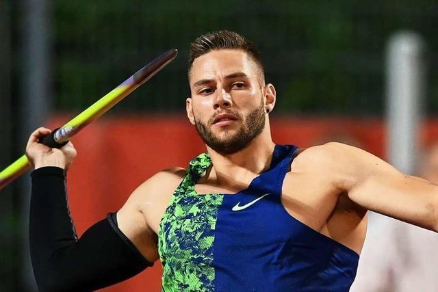 Speerwerfer Johannes Vetter von der LG Offenburg bleibt Favorit auf Olympia-Gold – 93,59 Meter bei Comeback in Finnland