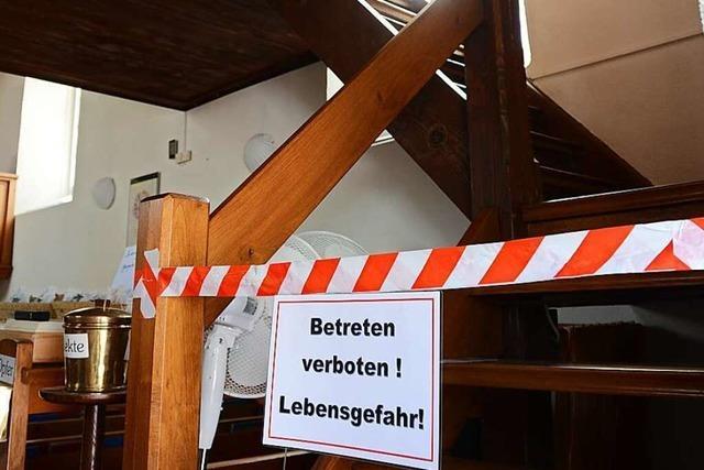 Sicherheitsmängel trüben Freude über Glööckler-Kirchenfenster