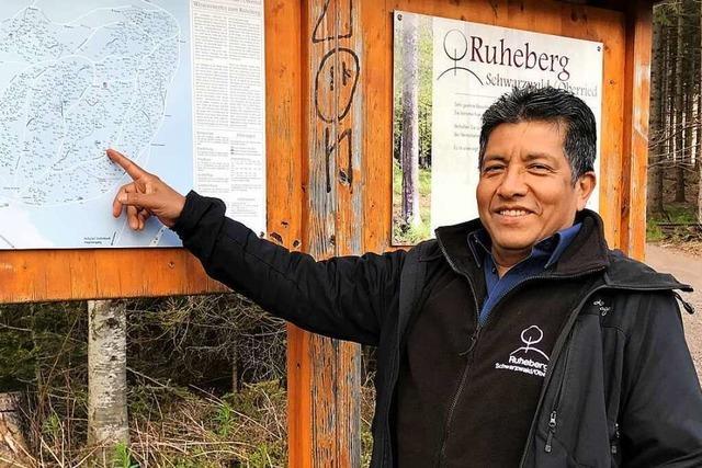 Carlos Cuellar Solis hat in Oberried seine Lebensaufgabe gefunden – er pflegt den Ruheberg