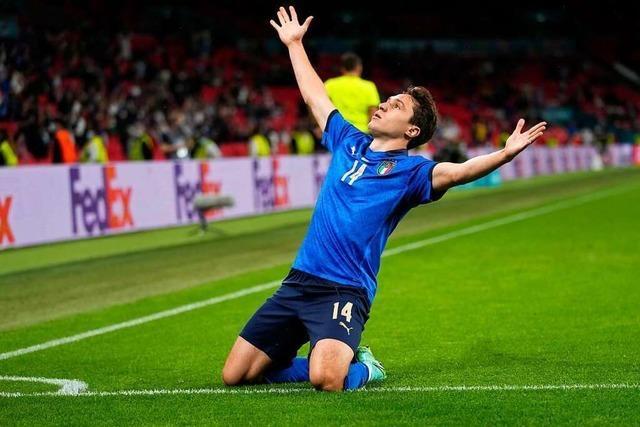 2:1 nach Verlängerung - Joker bringen Mitfavorit Italien ins EM-Viertelfinale