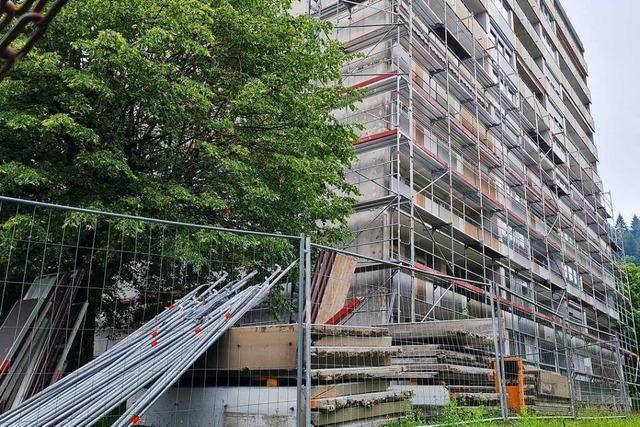 Wie Schopfheims höchstes Wohngebäude saniert wird