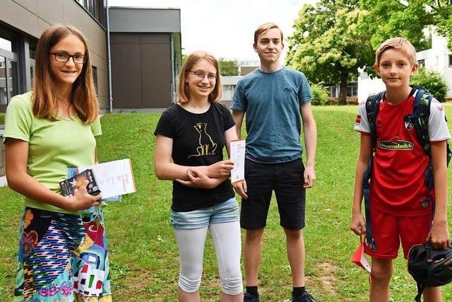 Denzlinger Schüler erfolgreich bei Mathematik-Wettbewerben