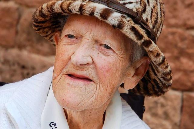 Else Ketterer aus Reichenbach hat ihren 100. Geburtstag gefeiert