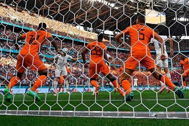 0:2 gegen Tschechien – die Niederlande scheitern im Achtelfinale