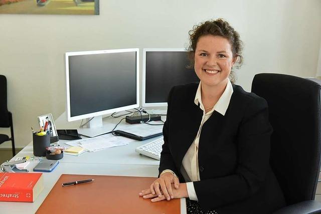 Theresa Barth − neue Richterin am Amtsgericht Emmendingen