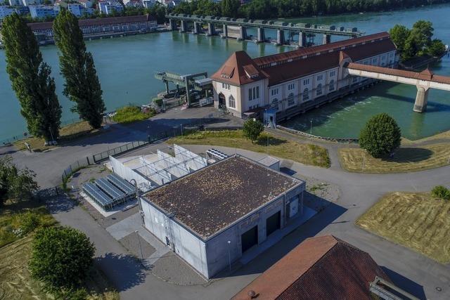 100.000 Euro Schaden an der Power-to-gas-Anlage in Grenzach-Wyhlen