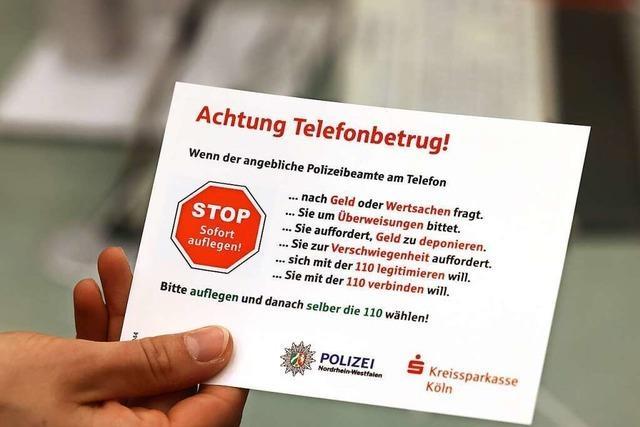 Polizei warnt vor Betrugsanrufen von falschen Ärzten und Polizisten im Kreis Lörrach