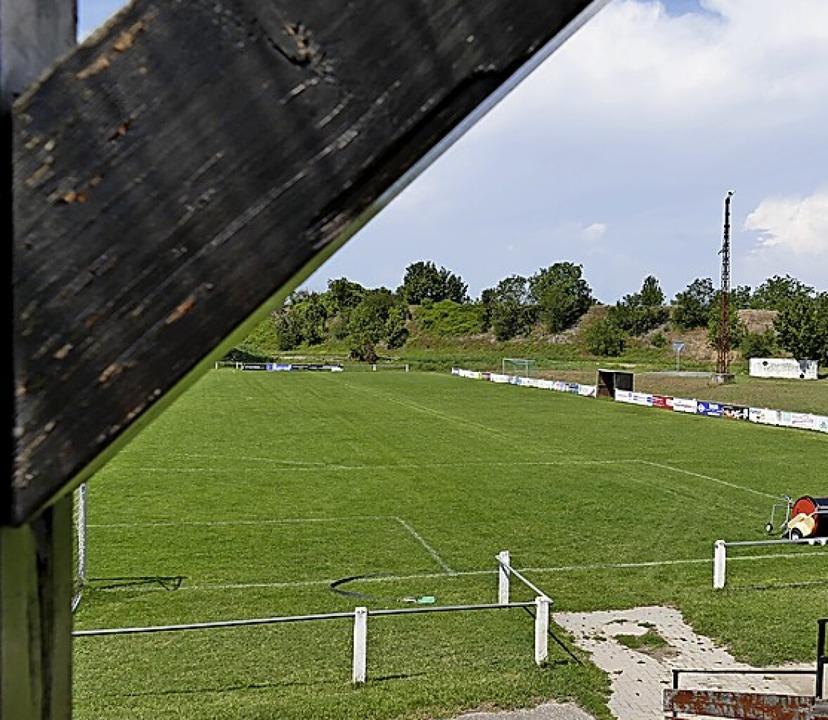 Die Spielfelder werden umgestaltet.    Foto: Frank Schoch