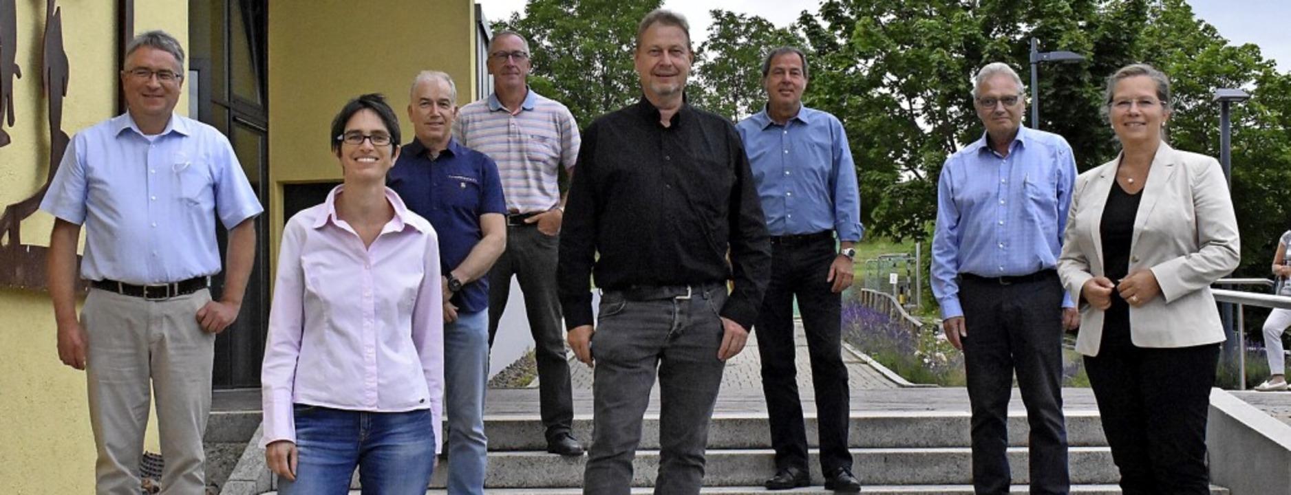 Vorstand und Aufsichtsrat: Martin Völk..., Dieter Burger, Diana Stöcker (v. l.)    Foto: Thomas Loisl Mink