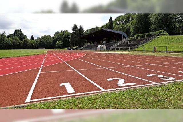 Laufbahn im Stadion Dammenmühle ist fertig