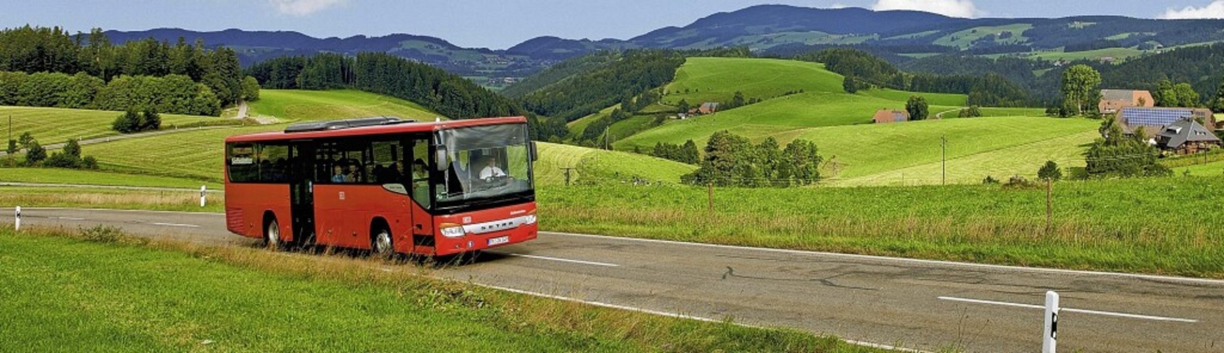 Pläne der Südbadenbus GmbH sehen keine... regt sich Widerstand in der Gemeinde.  | Foto: Mesenholl/Schwarzwald Tourismus
