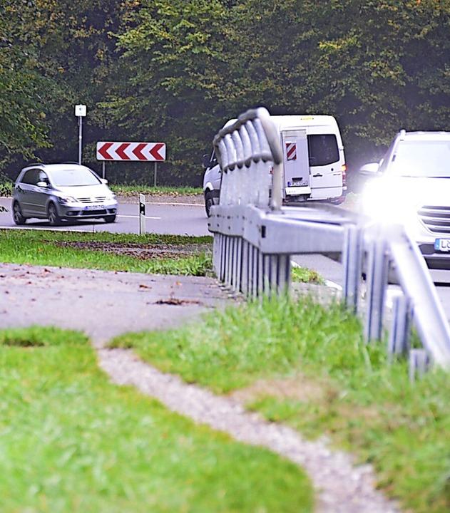 Am Radweg entlang der L134 wird weiter  geplant.    Foto: Moritz Lehmann