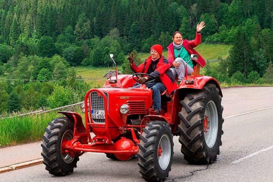 Von Hinterzarten ging es über Bärental und Feldberg nach Todtnau. (Foto: Wolfgang Scheu)