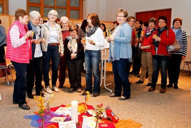 Die Frauengemeinschaft Oberschopfheim feiert den 100. Geburtstag