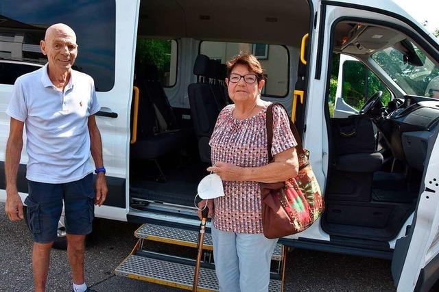 Bisher nutzt nur eine Seniorin den Busshuttle ins Grenzacher Freibad