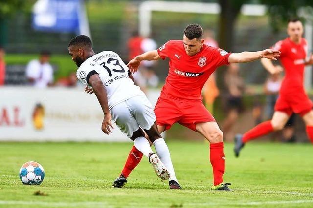 Der Bahlinger Anteil am Pokalsieg des FC 08 Villingen