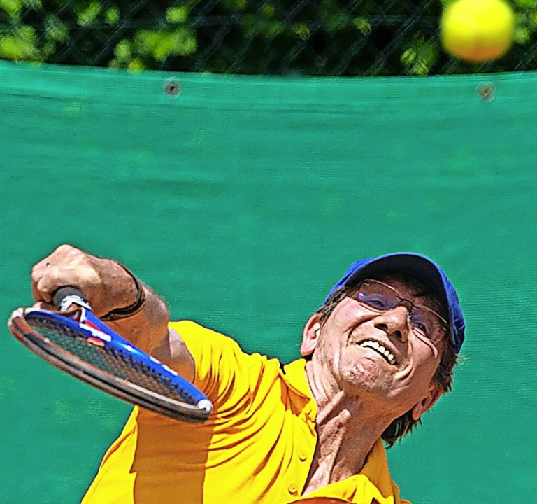 Christoff Busse hatte Pech im Tie-Break  | Foto: Wolfgang Scheu