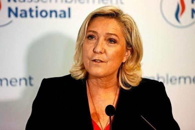 Marine Le Pen steht nach Wahlen in Frankreich mit leeren Händen da