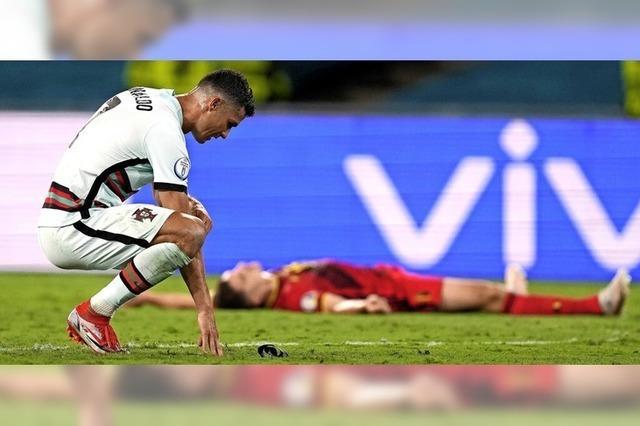 Portugals Abschied, Ronaldos Ankündigung