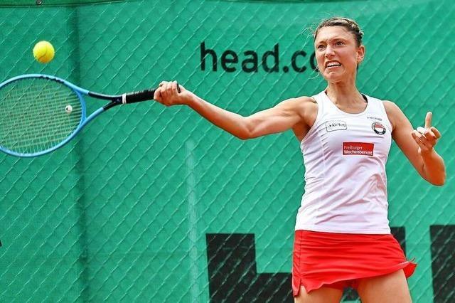 Erste Niederlage für das Frauen-Team des Freiburger Tennis-Club in der Badenliga