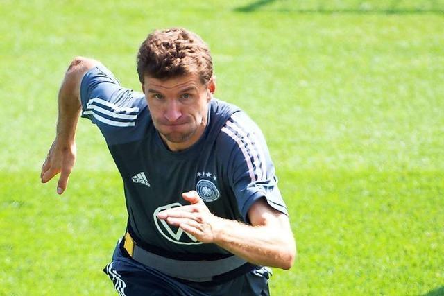 Thomas Müller hat gute Erfahrungen gegen England gemacht