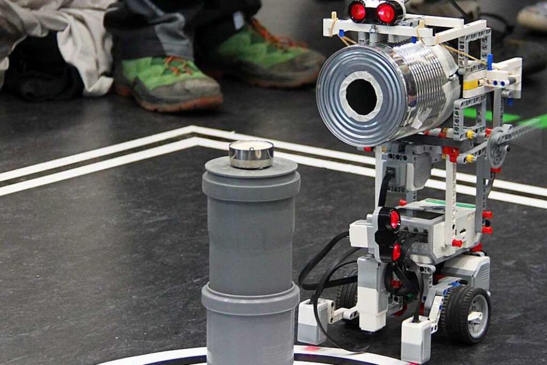 Bei dem Wettbewerb handelt es sich um ...n RoboRave International (Archivbild).  | Foto: Aaron Hohenfeld