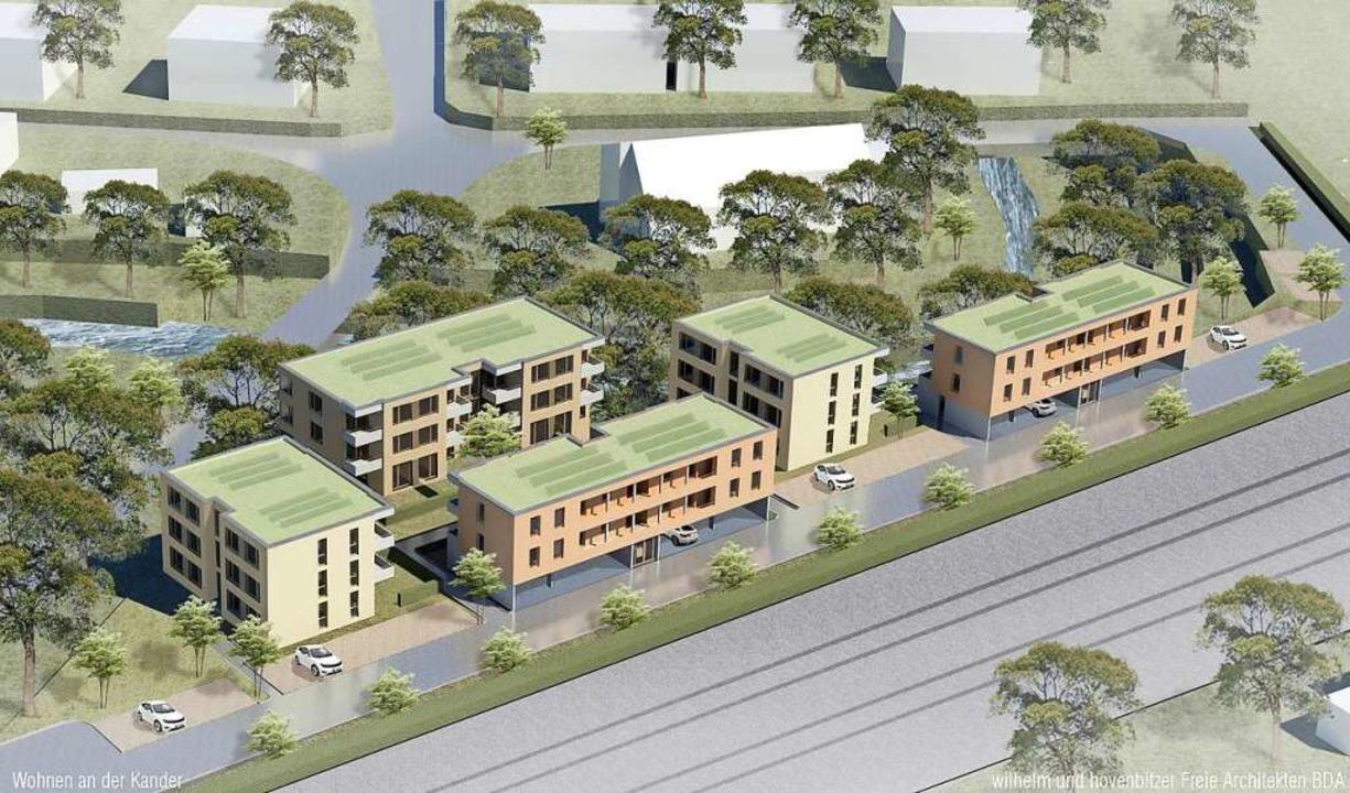 So sieht der vom Architekturbüro Wilhe...aus, den  P&F Immobilien  umsetzt.    Foto: privat