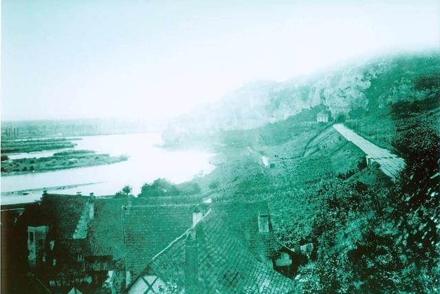 Mehrmals griff der Mensch massiv in den Lauf des Rheins ein