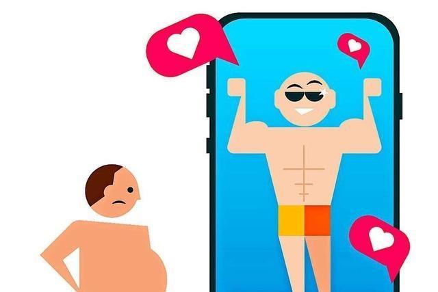 Es raubt Energie, in sozialen Medien immer gute Laune vorzugaukeln