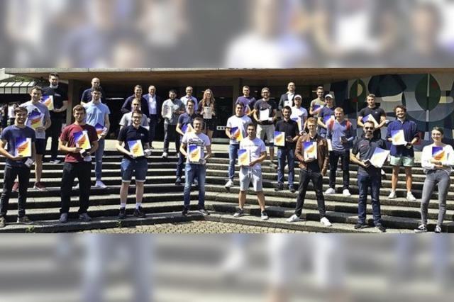 31 ausgezeichnete Absolventen