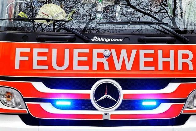 Unwetter in der Region Freiburg legt Breisgau-S-Bahn zeitweise lahm