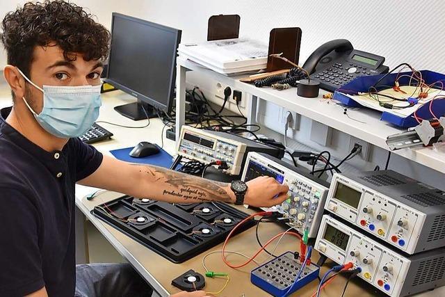 Sepa-Lüfter kühlen Elektronik-Teile