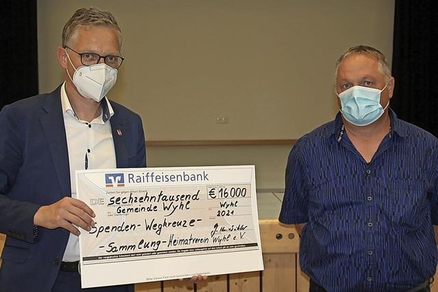 16 000 Euro für Kreuze