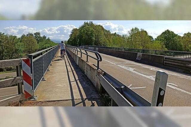 Brückensperrung auf das Notwendigste beschränken