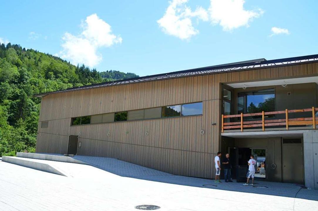 Die neue Halle in Schönau    Foto: Edgar Steinfelder