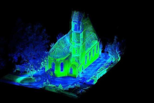 Darum werden Kirchen im Markgräflerland digital vermessen