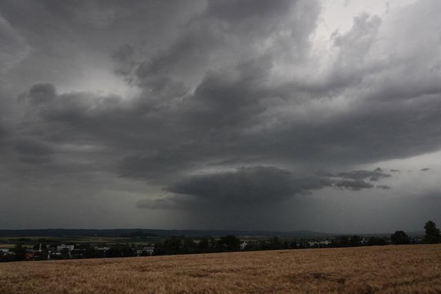 Heftige Unwetter ziehen erneut über den Südwesten