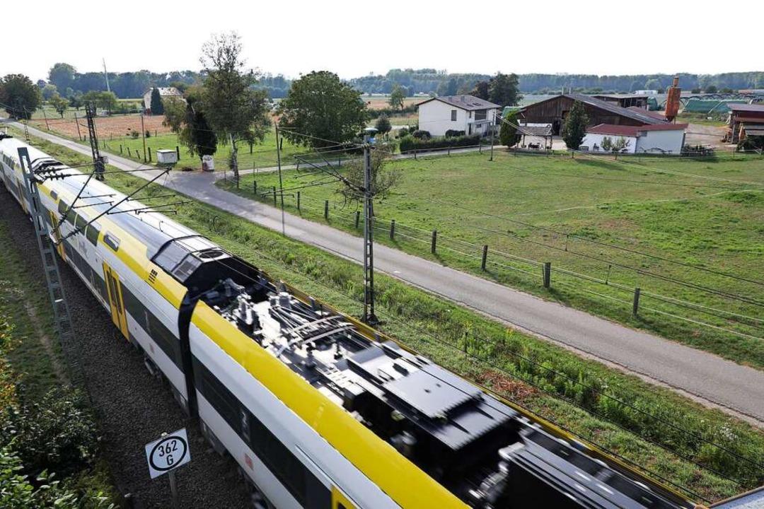 Station 2: Binzburghöfe/rheintalbahn    Foto: Christoph Breithaupt