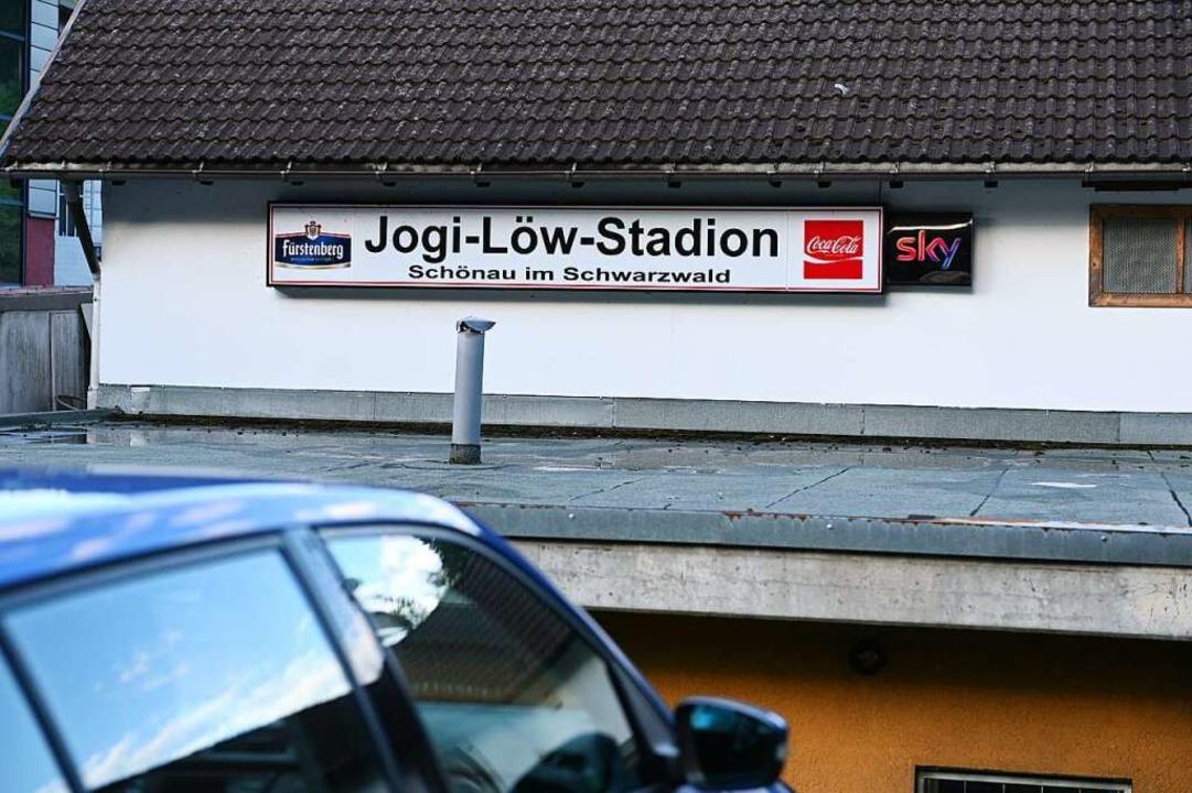 Das Stadion in Schönau ist nach Löw benannt.    Foto: Jonas Hirt