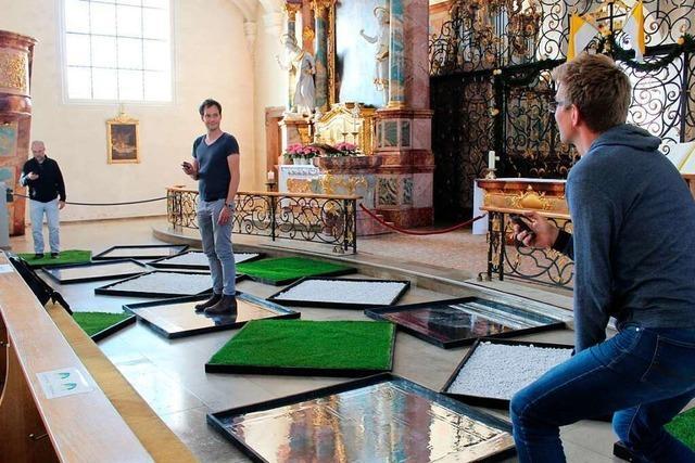 Von digitalen Endgeräten aus wird der Klang der Orgel in St. Peter gesteuert