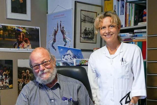 Die Landarztpraxis Henning in Efringen-Kirchen wird 40 Jahre alt