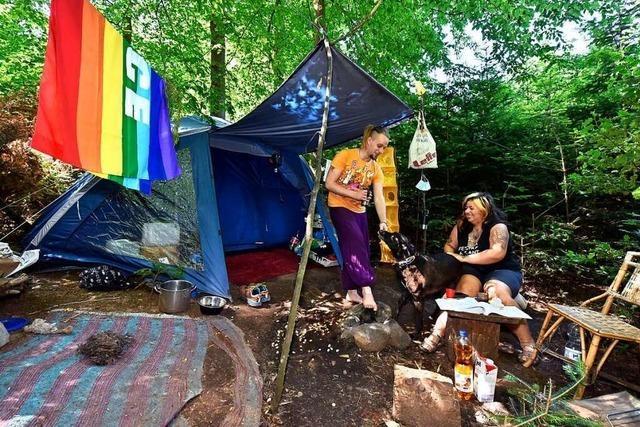 Immer mehr Menschen nutzen Freiburgs Wälder auch als Schlafplatz