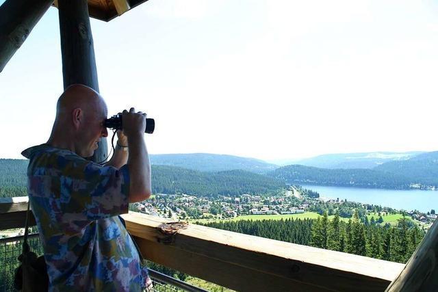Zwischen Schluchsee und Altglashütten finden sich kleine Seen und Moore