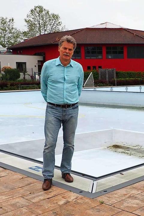 Geschäftsführer Carl-Stephan Matti    Foto: Herbert Frey